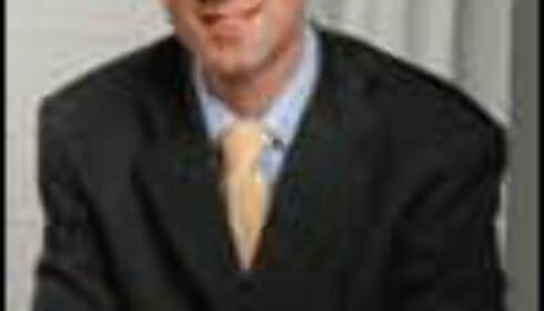 Informasjonskonsulent Leif Arnold Thomas ved Oslo Børs