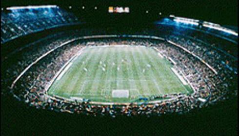 Camp nou har plass til 100.000 tilskuere.  Foto: FCBarcelona.es Foto: FC barcalona.es