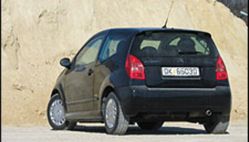 TEST: Citroën C2 1.4i VTR