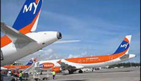 MyTravel Airways flyr for selskaper som Ving, Saga og Gulliver.