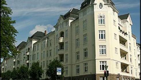 Frogner-boligene trekker opp prisnivået i Oslo.
