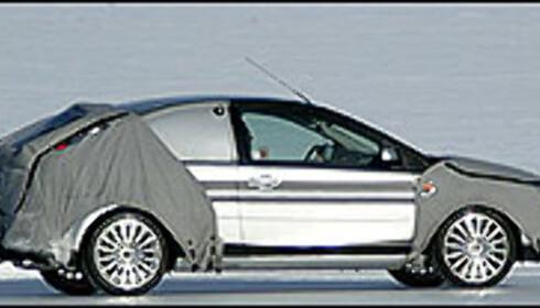 Ford Focus er på vei