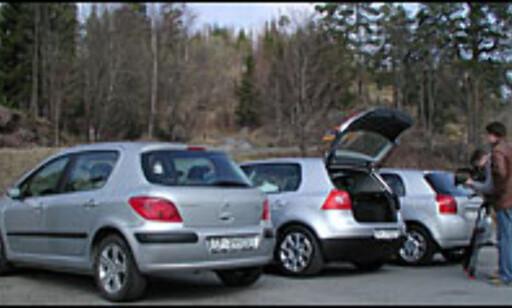 image: STORTEST: 307, Corolla og Golf