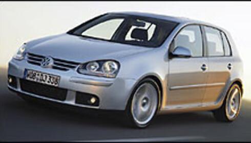 Femte generasjon Volkswagen Golf