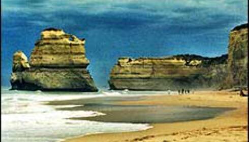 Fra Port Campbell National Park ved Great Ocean Road syd for Melbourne. Foto: Åse Gustavsen Foto: Åse Gustavsen
