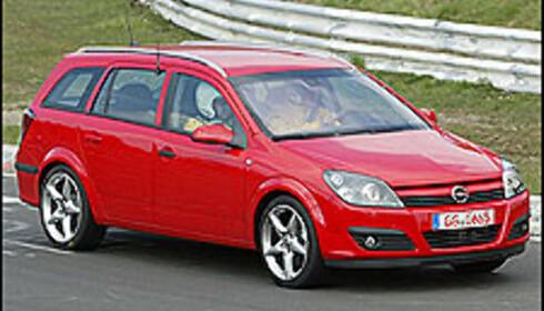 Opel Astra stasjonsvogn