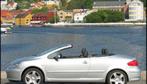 TEST: Peugeot 307 CC 177 hk