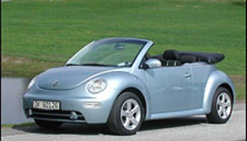 TEST: VW New Beetle cab 102 hk