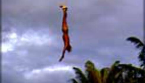 To hundre meter fritt fall rett ned. Henger du med?