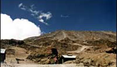 Kilimanjaro er majestetisk med sine 5.895 meter.