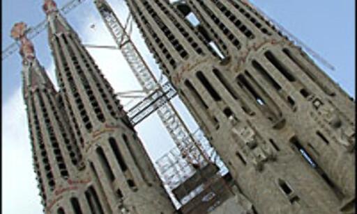 Temple de la Sagrada familia, stadig like uferdig.  Foto: Inga Holst  Foto: Inga Ragnhild Holst
