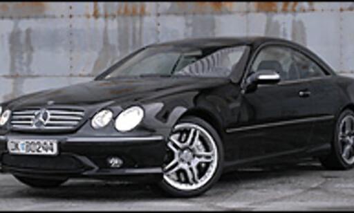 image: Mercedes CL 65 AMG prøvekjørt