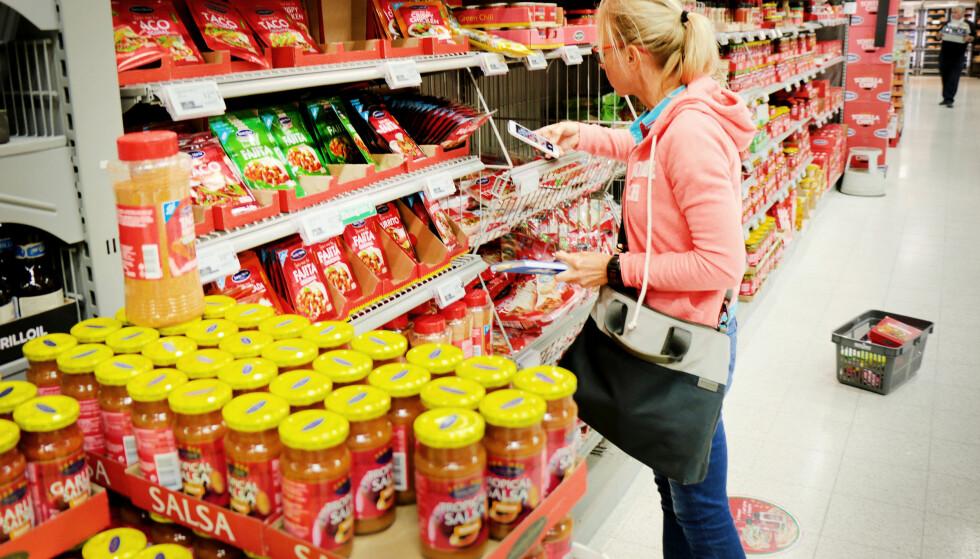 DETTE BØR DU HANDLE I SVERIGE: Tacofredagen ble 30 prosent billigere med varer fra Sverige. Foto: OLE PETTER BAUGERØD STOKKE