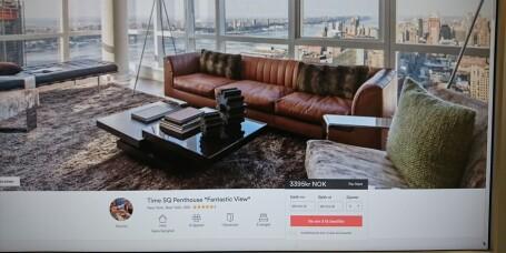 Airbnb er ofte billigere og bedre enn å booke hotell