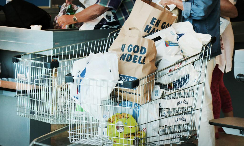 KJØP NOK! Det koster å komme seg til svenske butikker, så selv om det er prisforskjeller så bør du handle enden når du først reiser - for størst mulig gevinst på turen. Foto: OLE PETTER BAUGERØD STOKKE