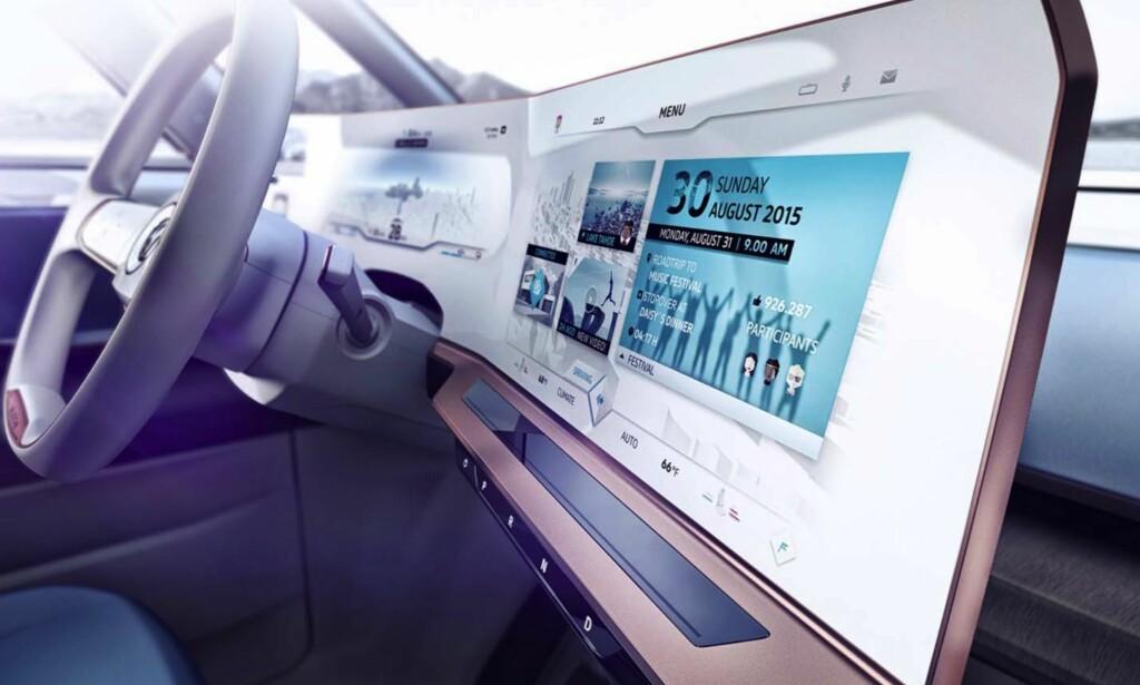 STUDIE: VW indikerer hvordan en ny bil kan bli. FOTO: VW
