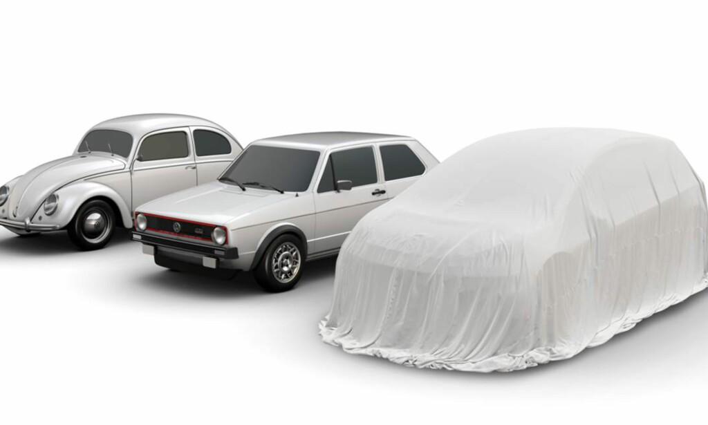 NY MODELL: VW går så sterkt ut at de mener den nye elbilen vil være en arvtaker etter bobla og Golf. FOTO: VW