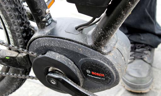 VINNER: Hele 87 prosent av årets elsykler har motor ved pedalene (krankmotor).