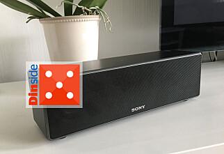 Trådløs og fleksibel høyttaler fra Sony