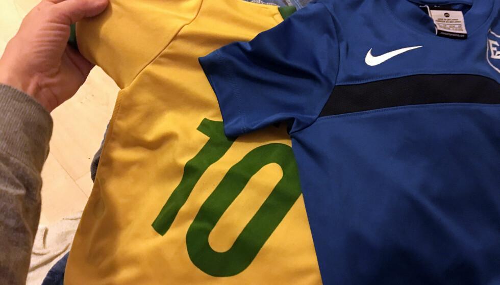 VASKE FOTBALLDRAKTA? Se hvordan du vasker idrettslagets trøyer på riktig måte. Foto: Berit B. Njarga