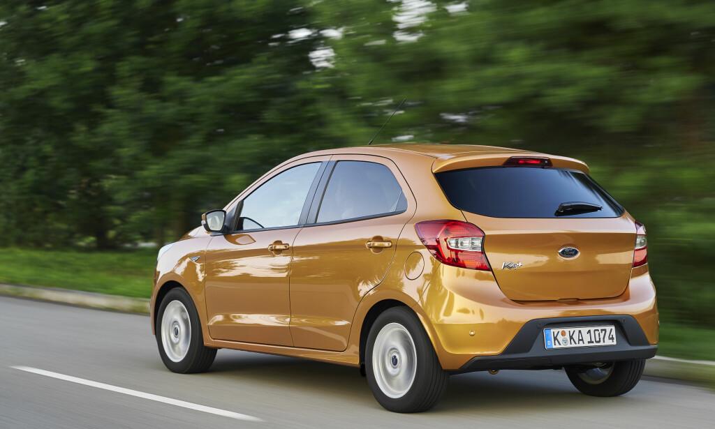 MER KONVENSJONELL: Ka+ ligner en god del mer på de øvrige modellene i småbil-klassen enn forrige Ka.