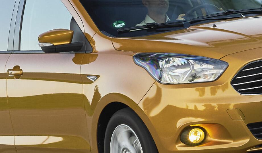 SLUTT PÅ PARTNERSKAP: Forrige Ford Ka var basert på Fiat-plattform - nykommeren er en Fiesta-avlegger. Foto: Ford