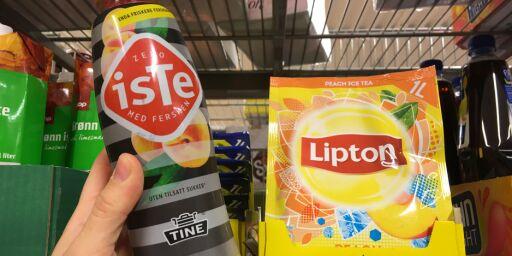 image: Isteen til venstre inneholder 0 prosent sukker, likevel betaler du sukkeravgift