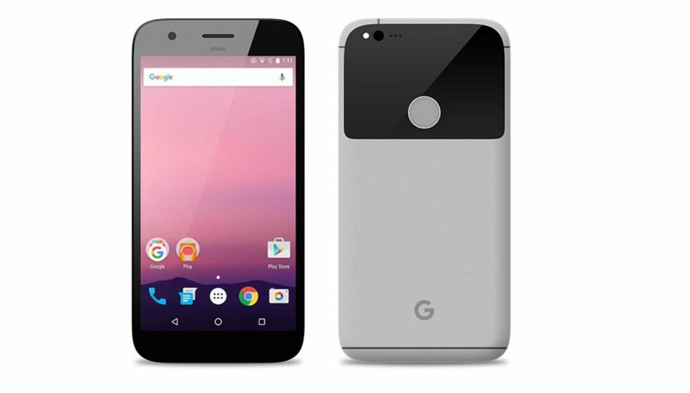 NYE TELEFONER: Ifølge ryktene skal Google vise frem litt av hvert neste uke; blant annet to nye Pixel-telefoner. Foto: Ukjent