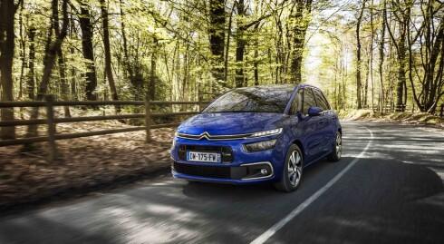 MODERNE: Norske biljournalister roser Citroën sitt spennende design.
