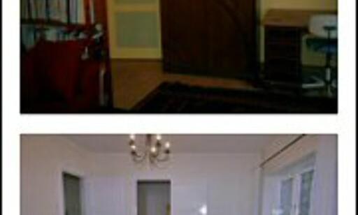 EKSTREM FORVANDLING: Hvilken leilighet frister mest? Foto: Siri Kvaløy