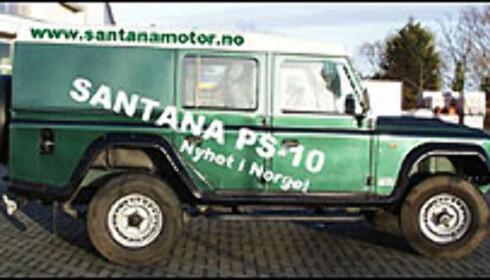 Nytt bilmerke i Norge: Santana