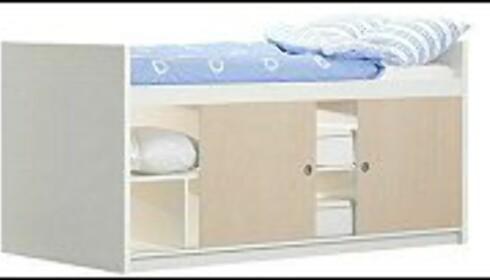 IKEA selger ferdige senger med skapplass under madrassen. Lignende løsninger kan du også lage selv. Foto: www.ikea.no Foto: www.ikea.com
