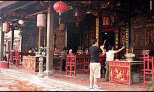 Cheng Hoon Teng tempelet. Foto: Sindre Storvoll