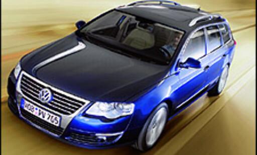 Volkswagen Passat: 1. plass i DinSides avstemning (995 stemmer)