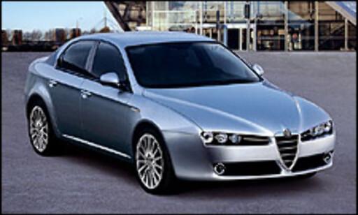 Alfa Romeo 159: 3. plass (536)
