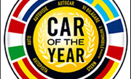 Car of the Year-emblemet