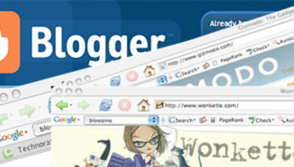 Dette er blogging