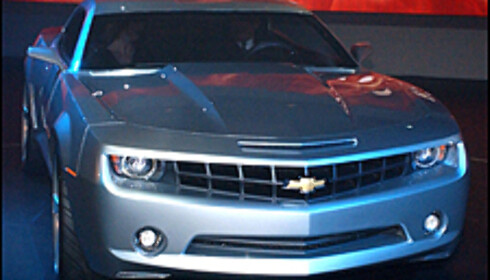 Chevrolet Camaro gjenoppstår. 38 års historie.