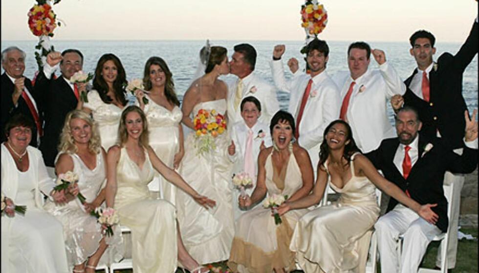 Vakkert og stilfullt på dette bryllupet i Mexico.  Foto: Vince Bucci/Getty Images/All Over Press Foto: Vince Bucci/Getty Images/All Over Press