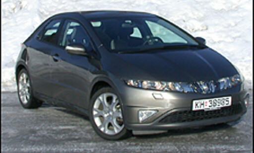 image: TEST: Honda Civic - nytt, annerledes og vellykket