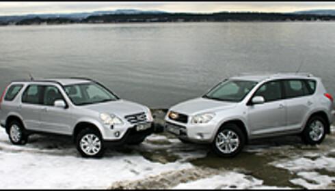 DUELL: Diesel-oppgjør mellom Toyota RAV4 og Honda CR-V