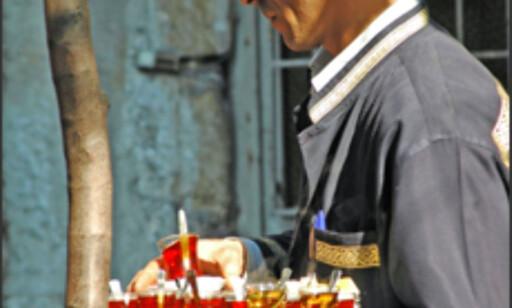 En kopp eller ti er hverdagskost i Istanbul.
