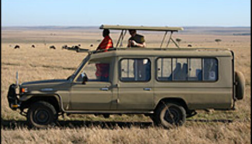 I Afrika med Toyota Land Cruiser