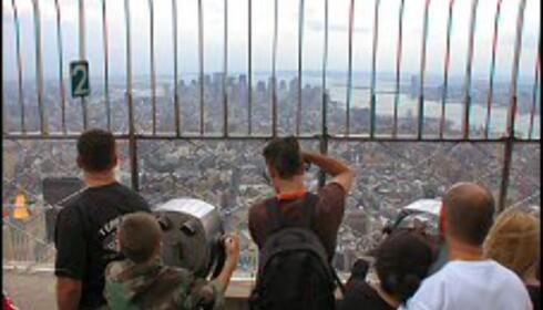 Flott utsikt fra Empire State Building.