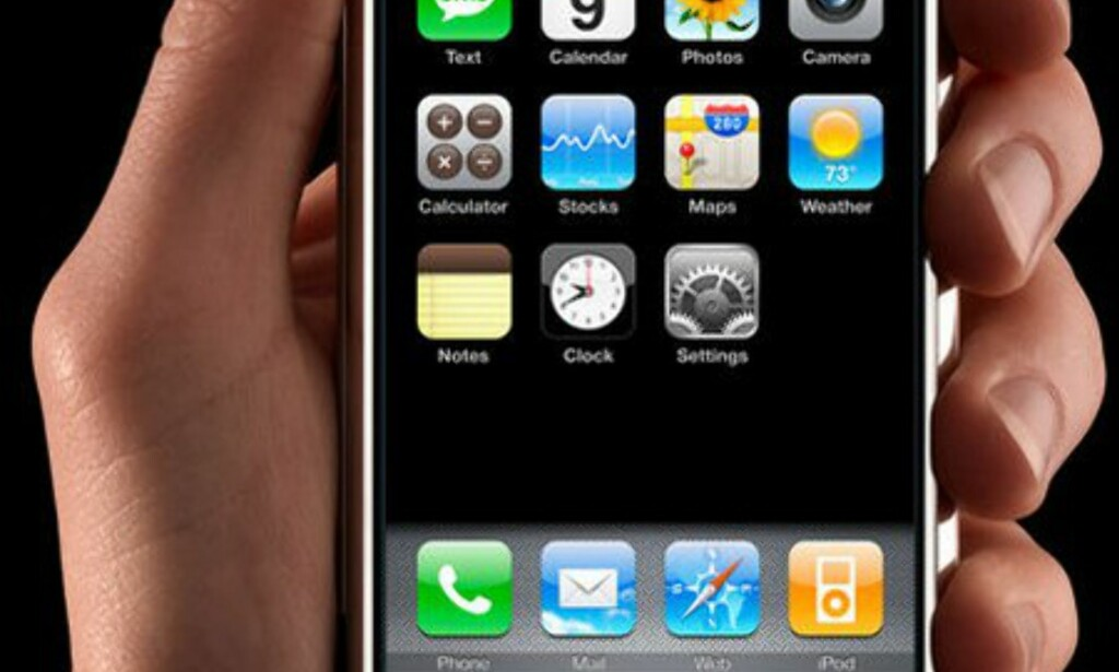 image: Her er iPhone