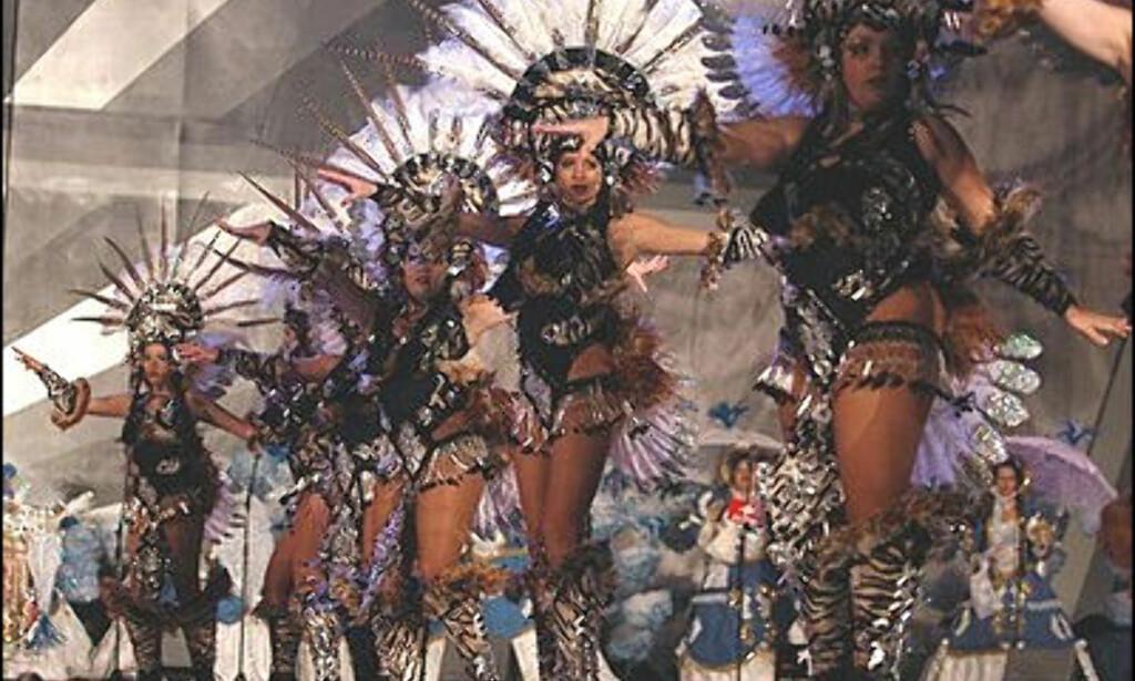 Fra karnevalet i Santa Cruz på Tenerife. Foto: Ayuntamiento de Santa Cruz de Tenerife