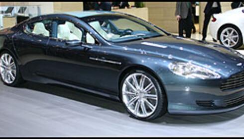 Skal komme: Aston Martin Rapide