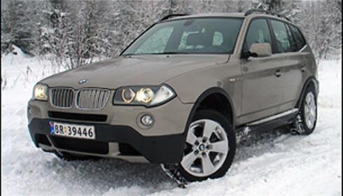 TEST: BMW X3 3.0sd - et uvær på hjul