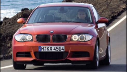 BMW 1-serie Coupé avduket