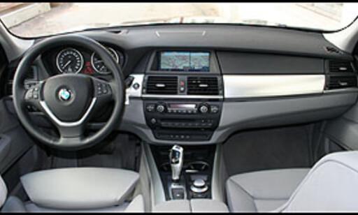 Nytt, men klassisk BMW-interiør